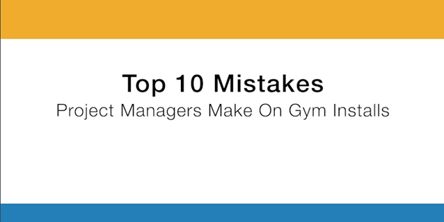 Top 10 Mistakes Commercial Gym Installs