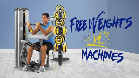 Free Weights vs Machine