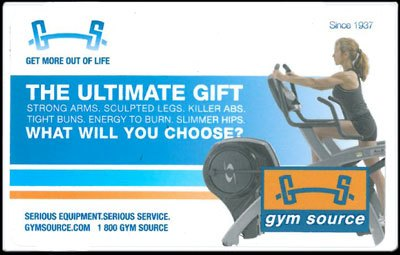 Gym Source Gift Card
