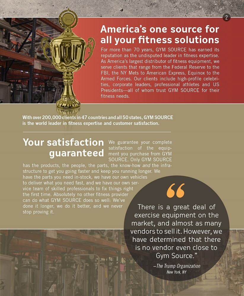 Gym Source Sales Brochure Page 3/15
