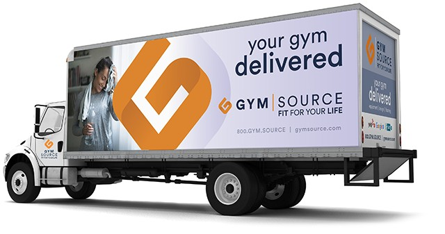 Gym Source Delivery Truck