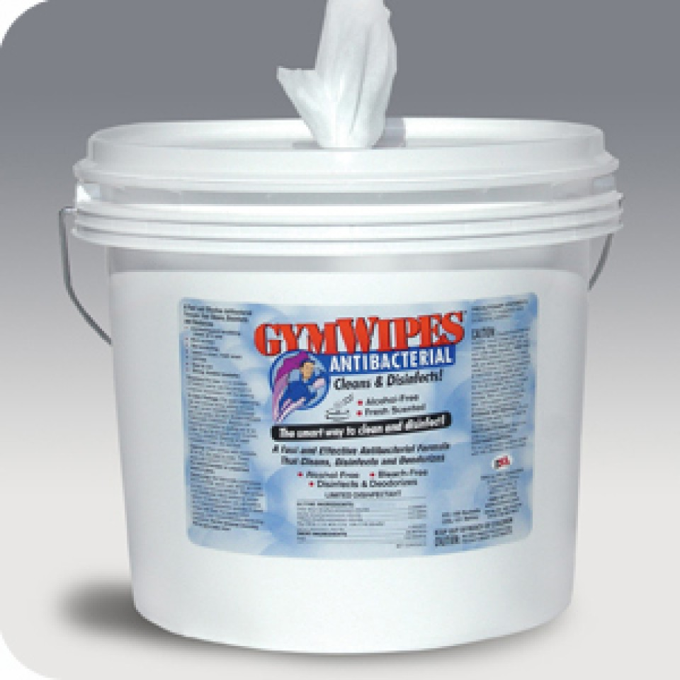 Fitness Equipment Wipes: 2XL Corp GymWipes Antibacterial Bucket (case Of 2)