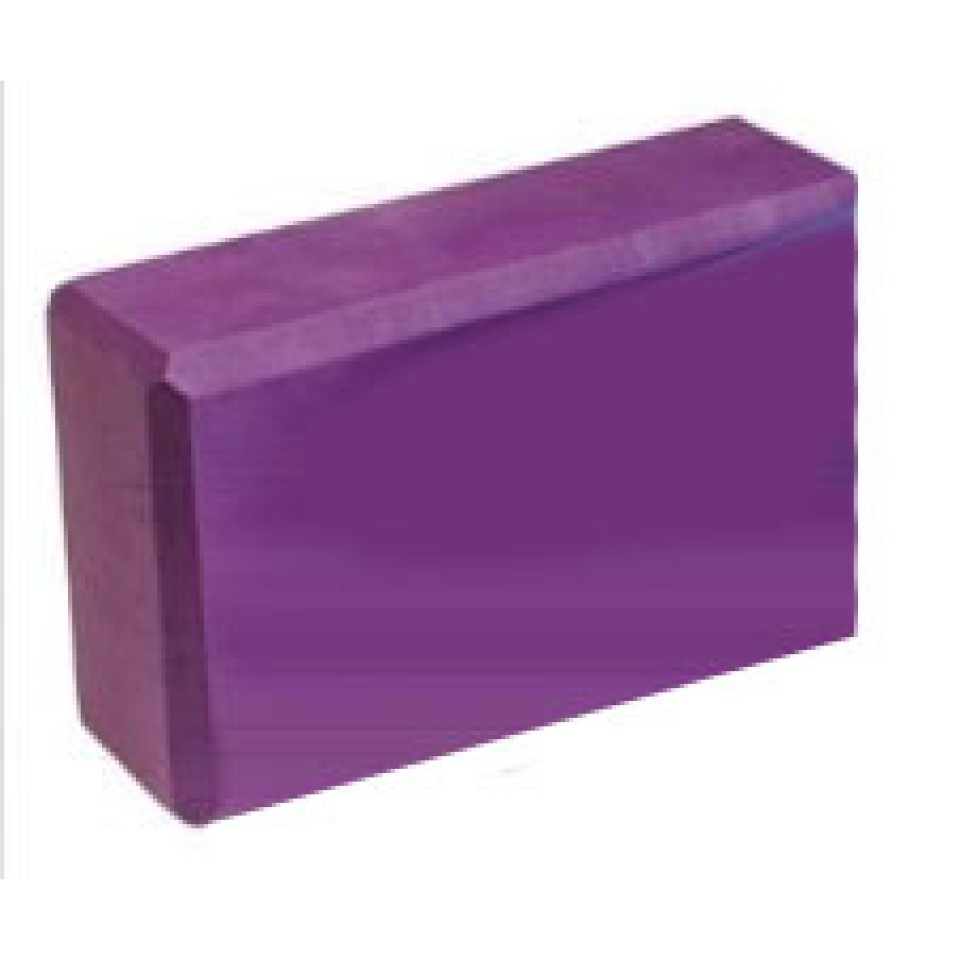 Purple Yoga Block from Aeromat