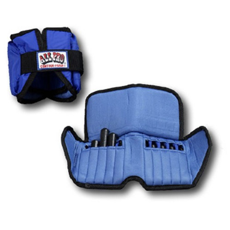 ALL PRO 600 WRIST WEIGHTS Adjustable up to 4lbs
