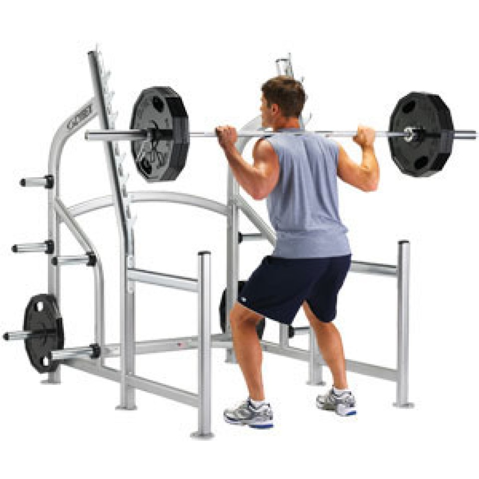 Squat Rack from Cybex