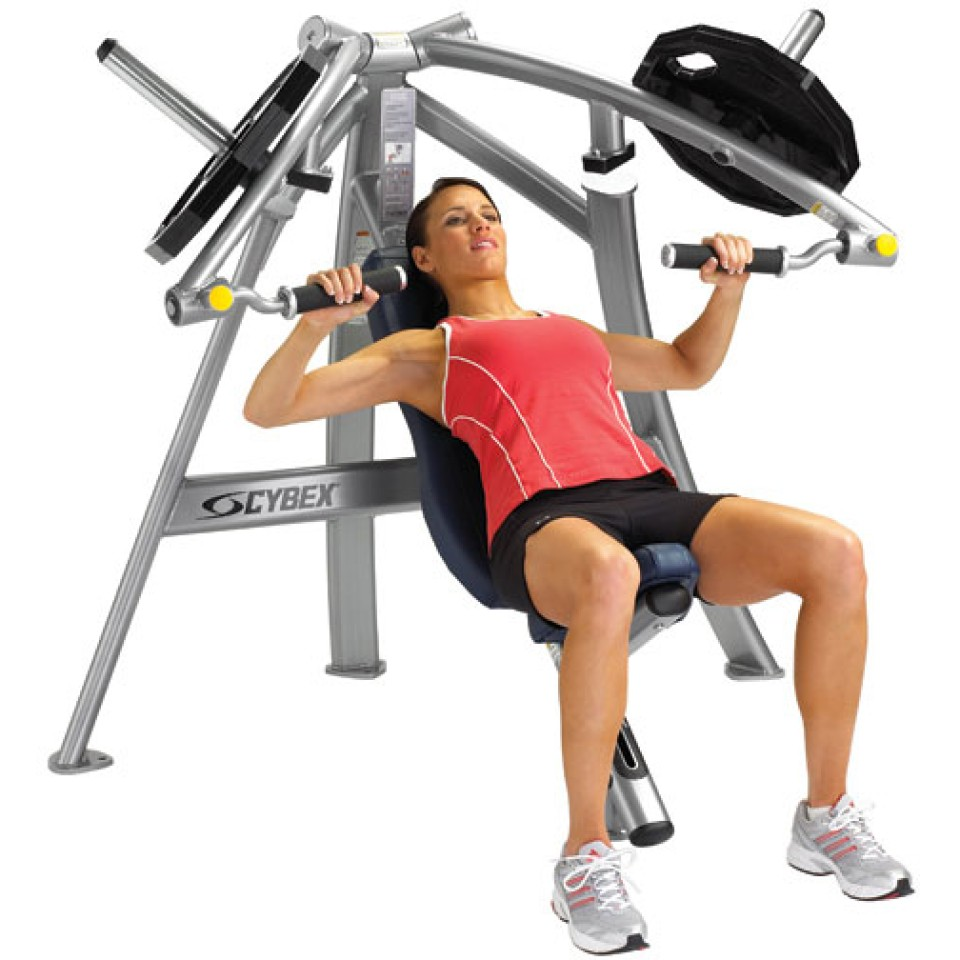 Cybex Converging Chest Press Gym Source