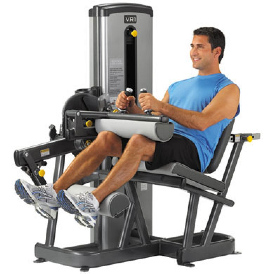VR1 Seated Leg Curl from Cybex
