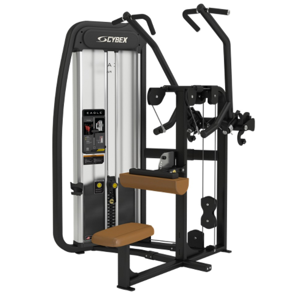 Cybex's Eagle NX Lateral Pulldown Machine