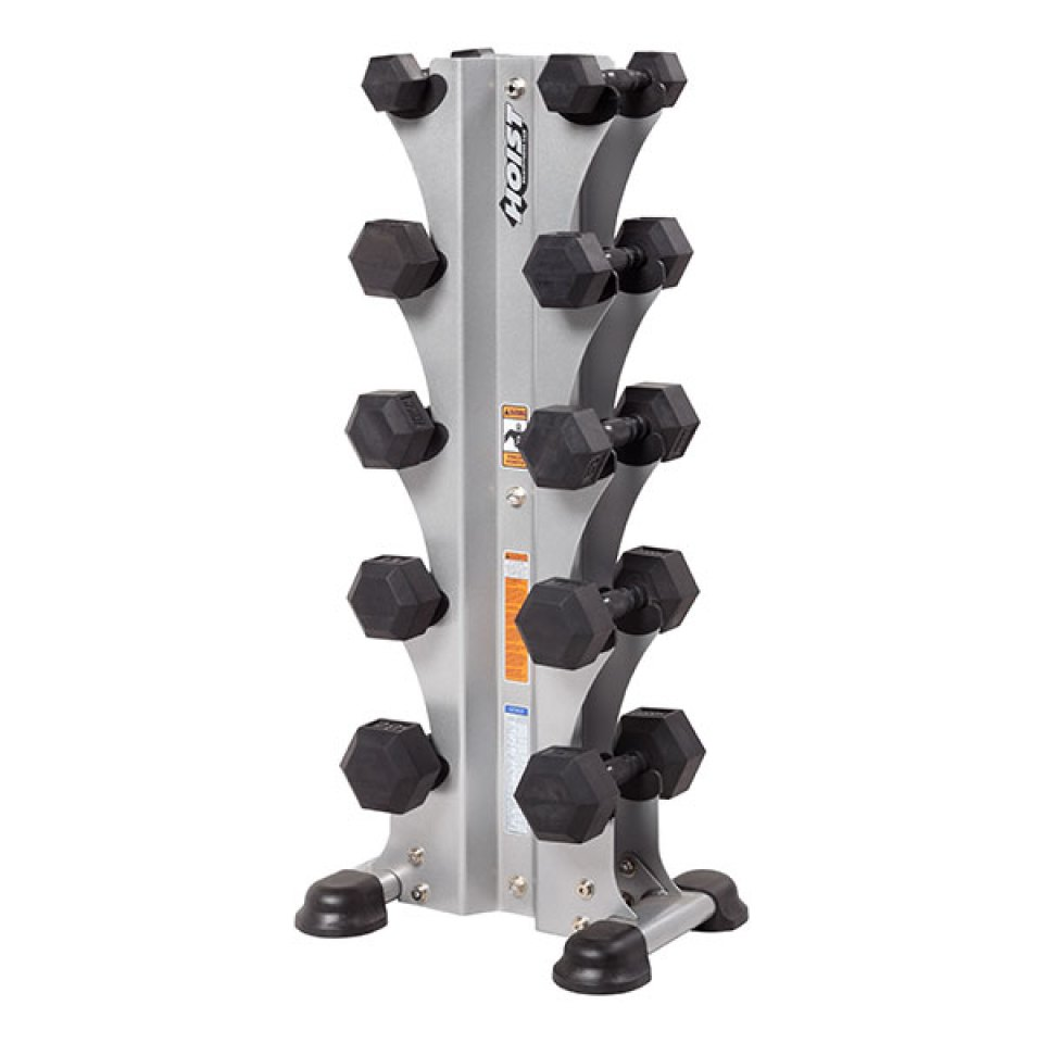 Hoist 5 Pair Vertical Dumbbell Rack
