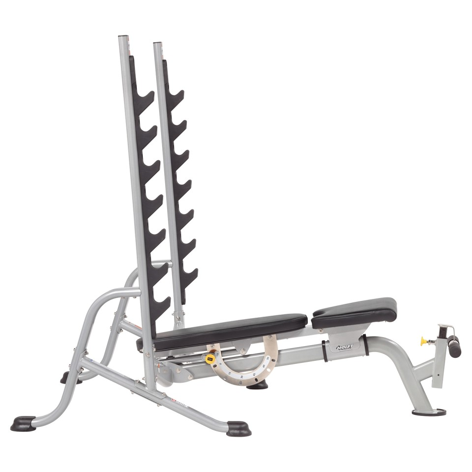 HOIST HF-5170 7 Position F.I.D Olympic Bench - Flat