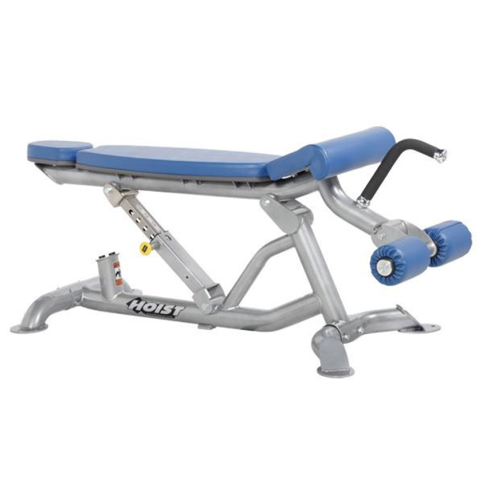Hoist Adjustable Flat/Decline Bench.