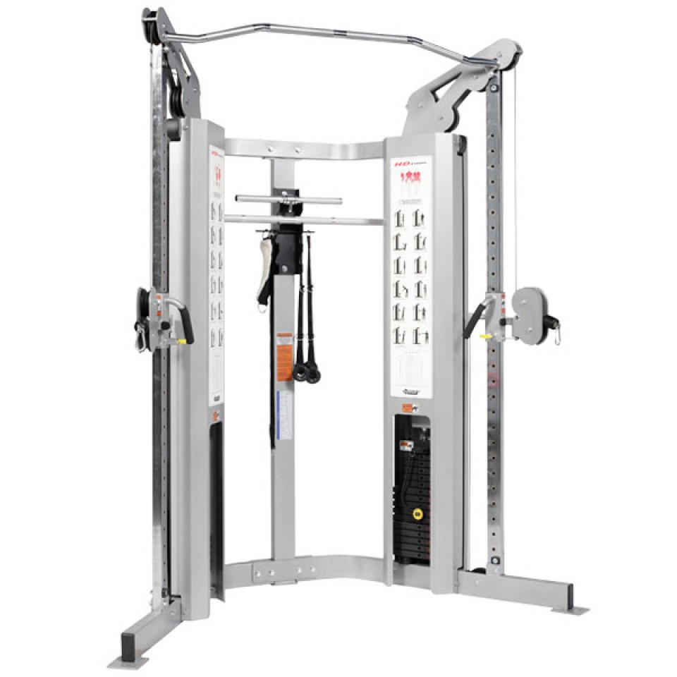 Hoist pulley system gym source