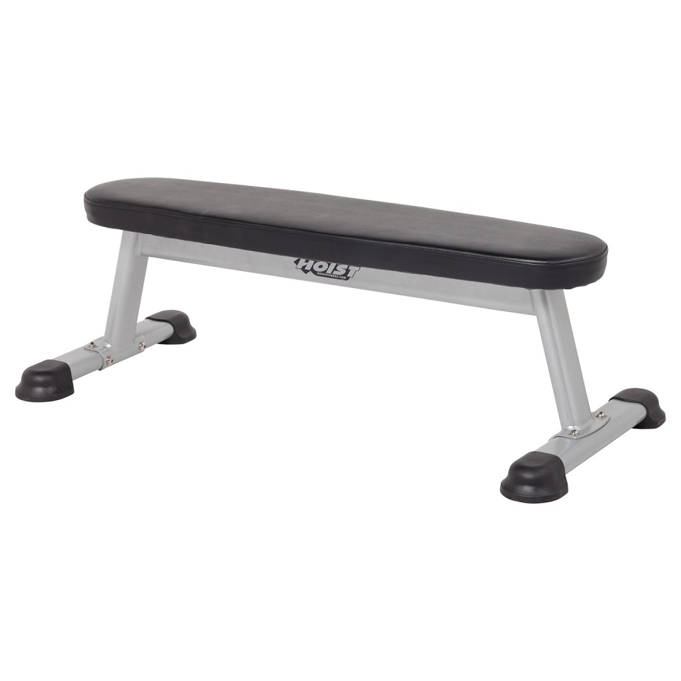 Hoist Hf 5163 Flat Utility Bench Gym Source