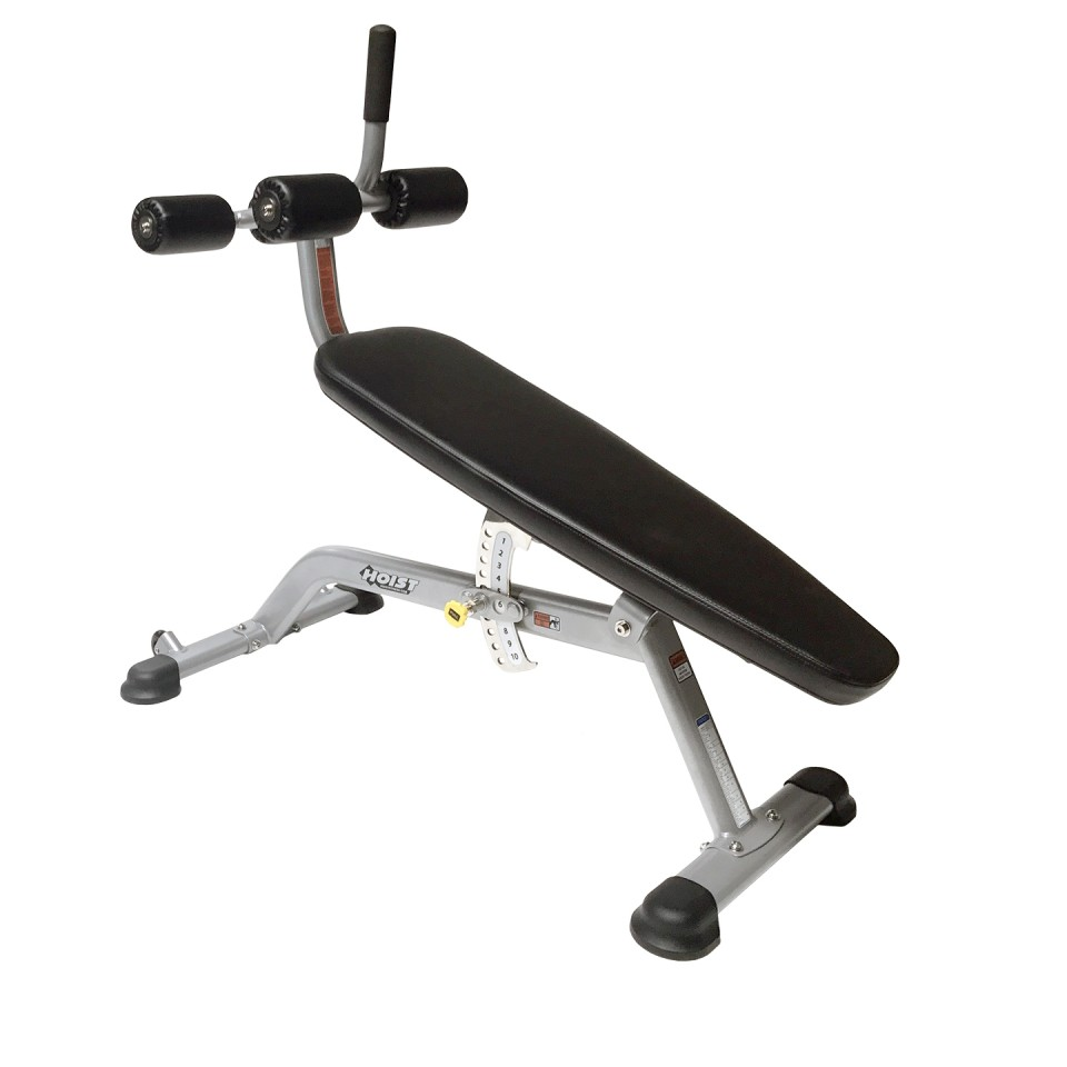 Hoist HF 5264 Adjustable AB Bench - Top View
