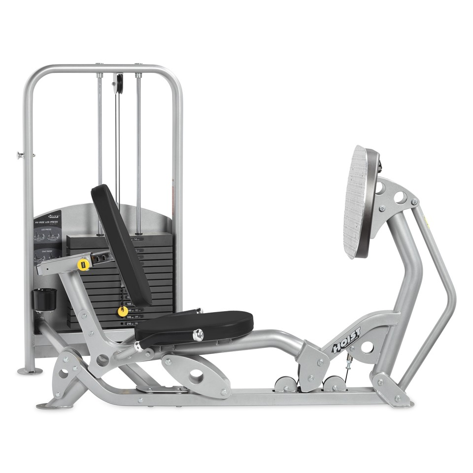 Hoist HV Ride Freestanding Leg Press Side