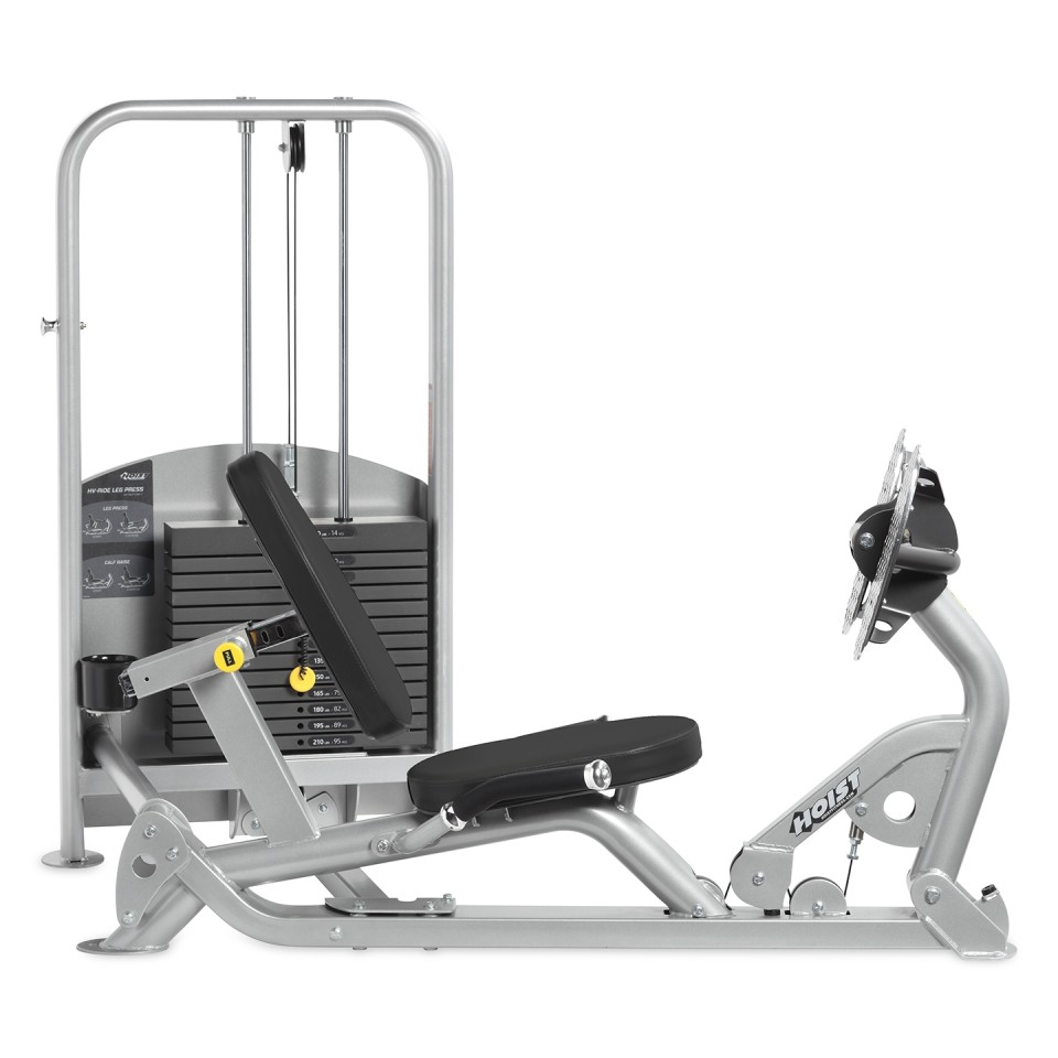Hoist HV Stationary Freestanding Leg Press Side