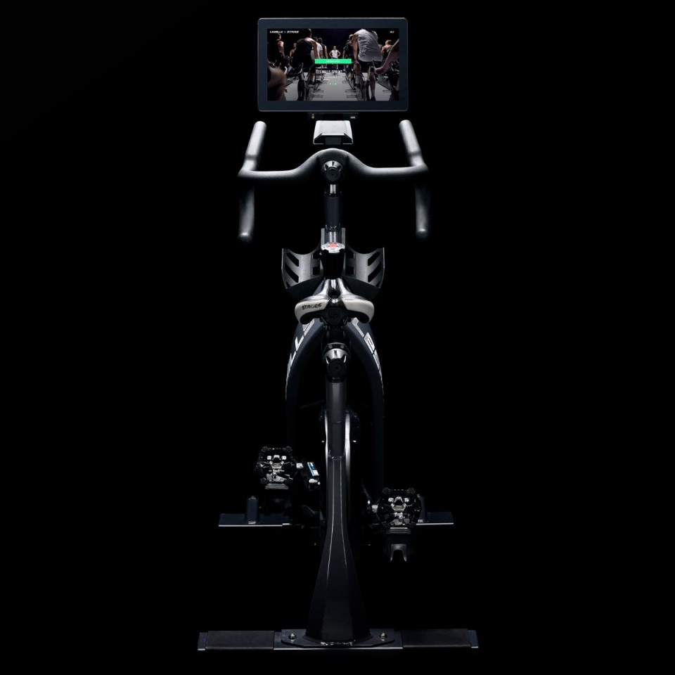 Stages Les Mills Virtual Bike - Rear View
