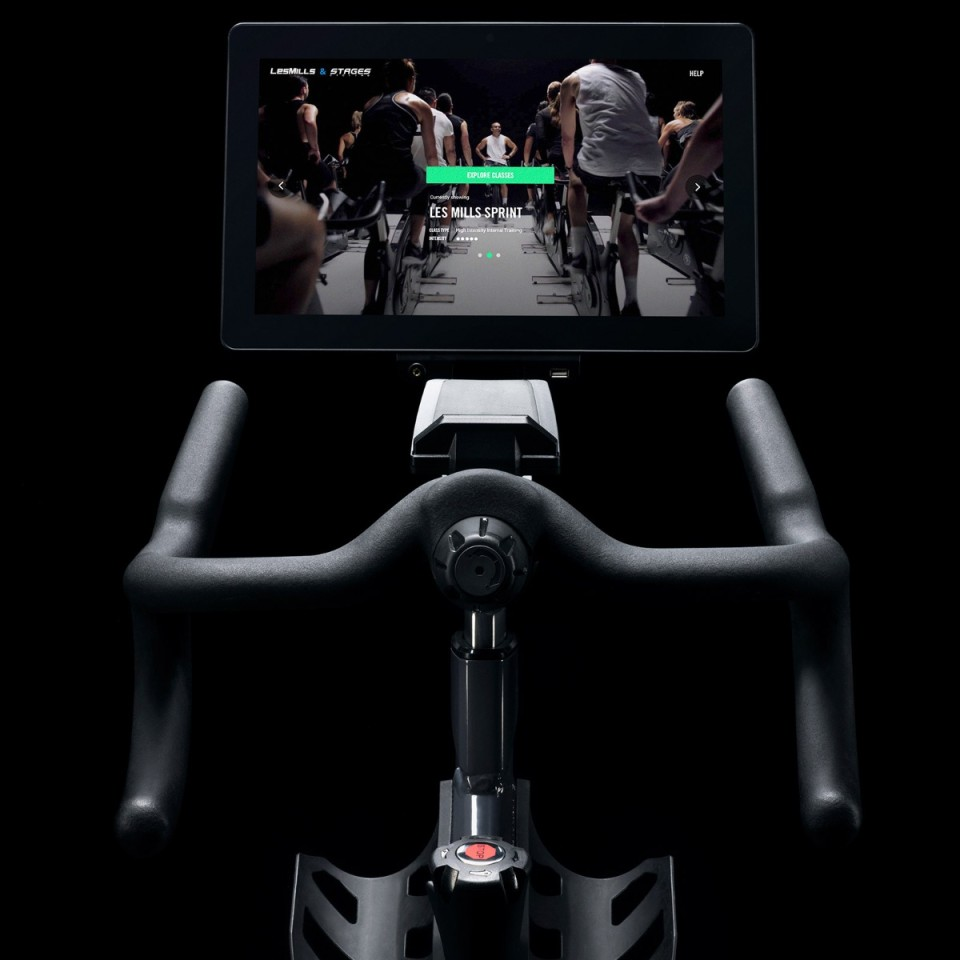 Stages Les Mills Virtual Bike - Console