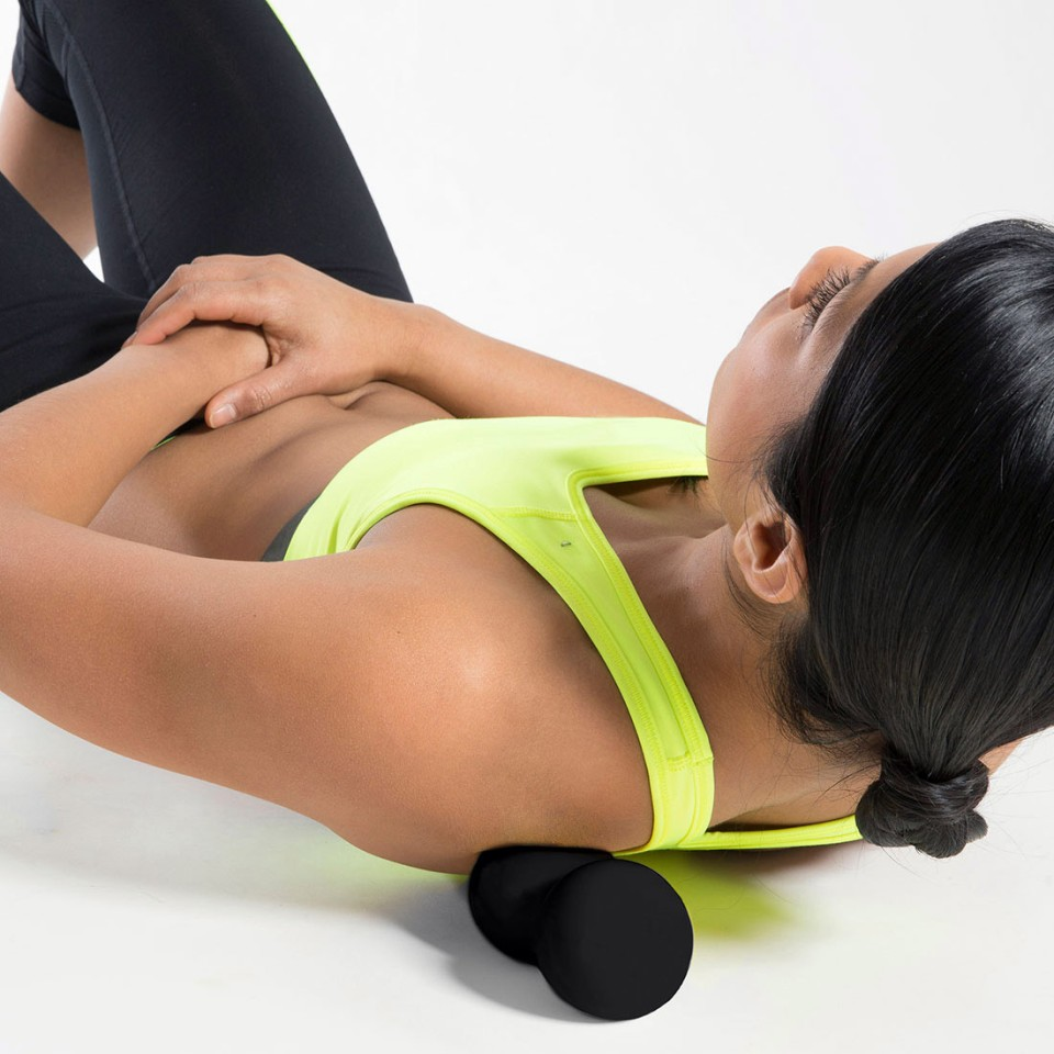 Lifeline Dual Massage Ball In Use