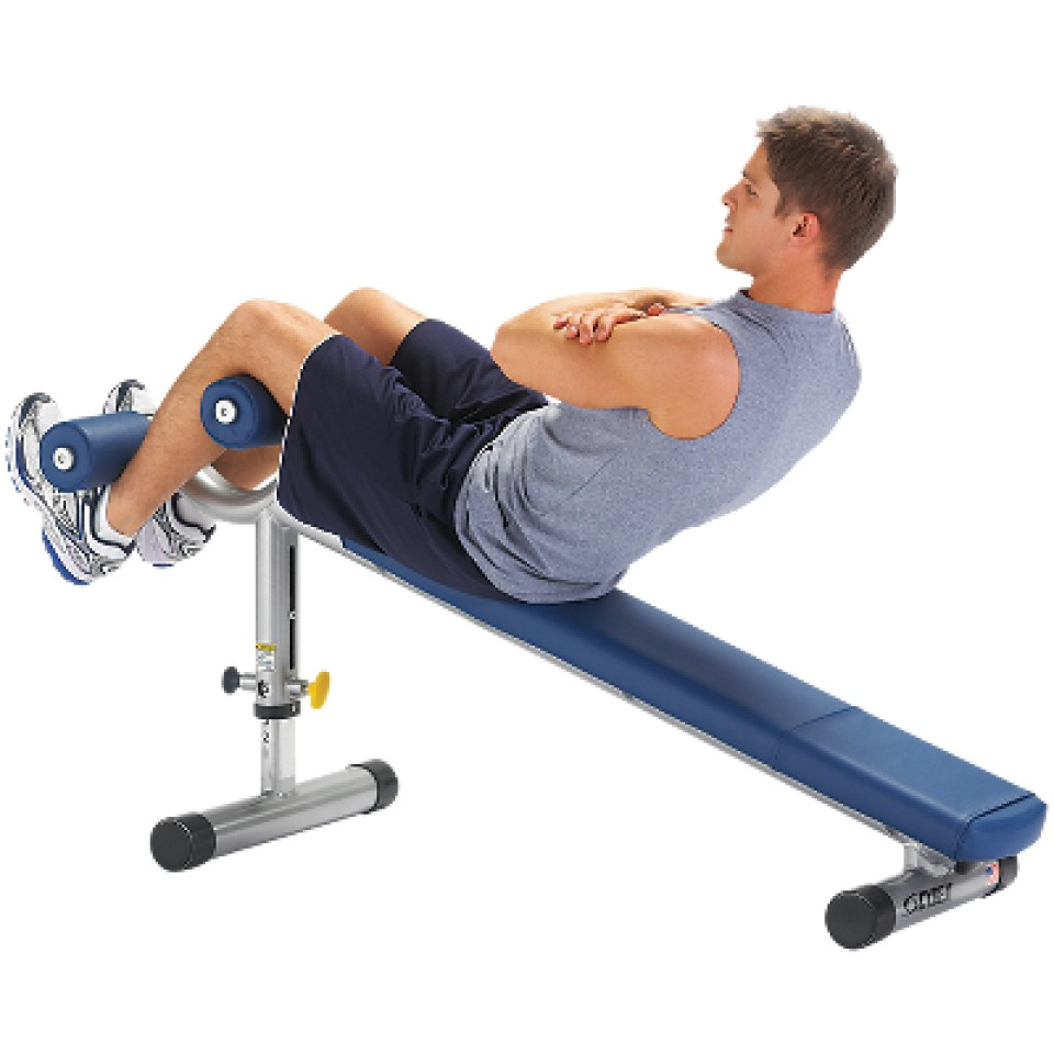 Adjustable Decline Bench from Cybex