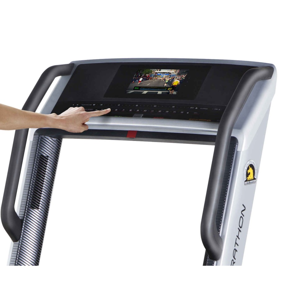 Work out on the GSX Marathon Treadmill