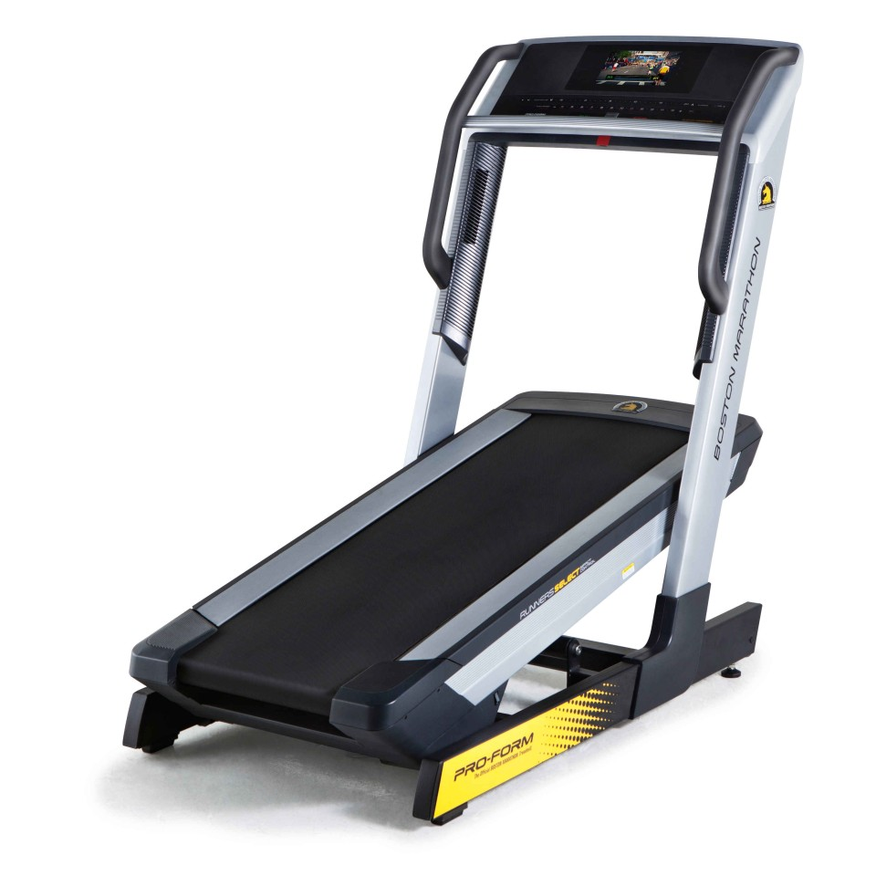 Boston Marathon Official GSX Treadmill