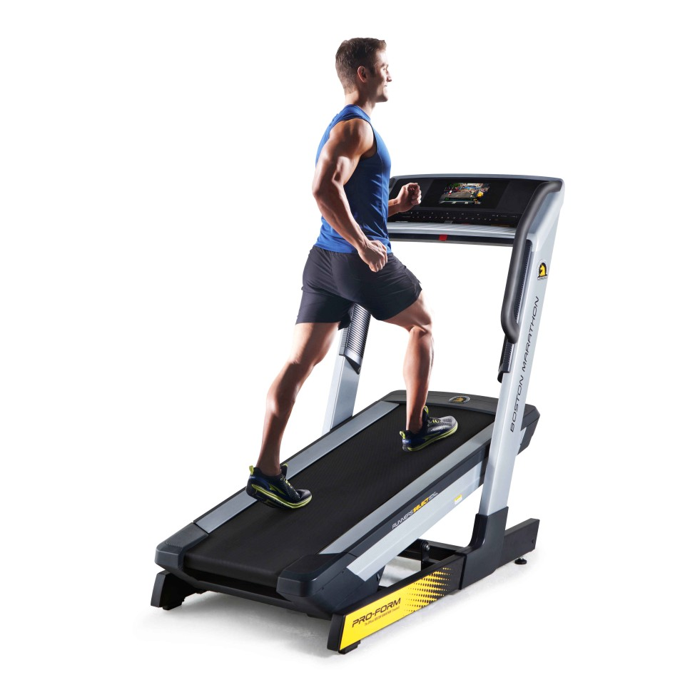 Marathon Trainer from Gym Source