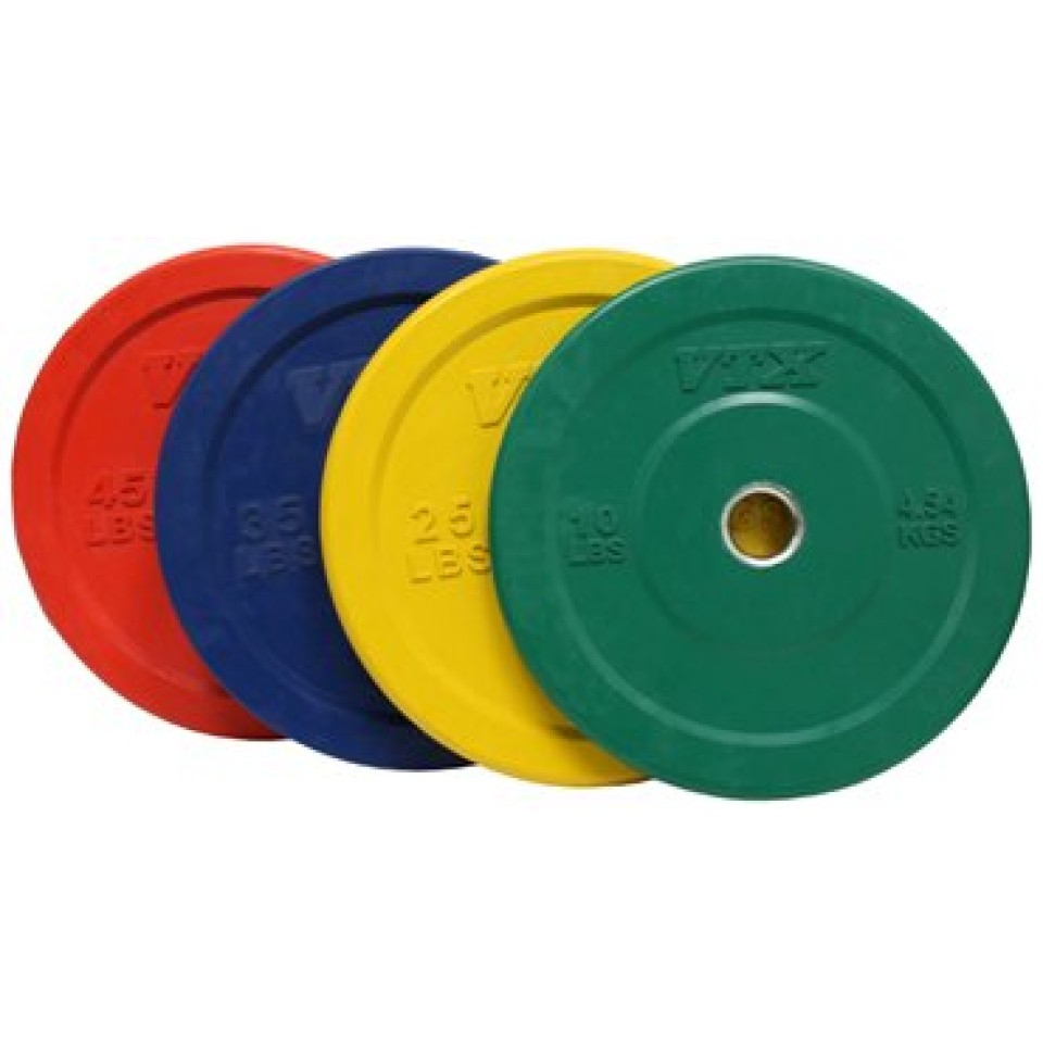 Solid Bumper Plates from VTX