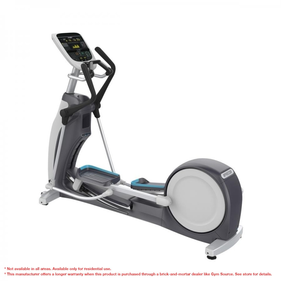 Precor EFX® 835 Experience™ Series Moving handlebars w/adjustable CrossRamp®