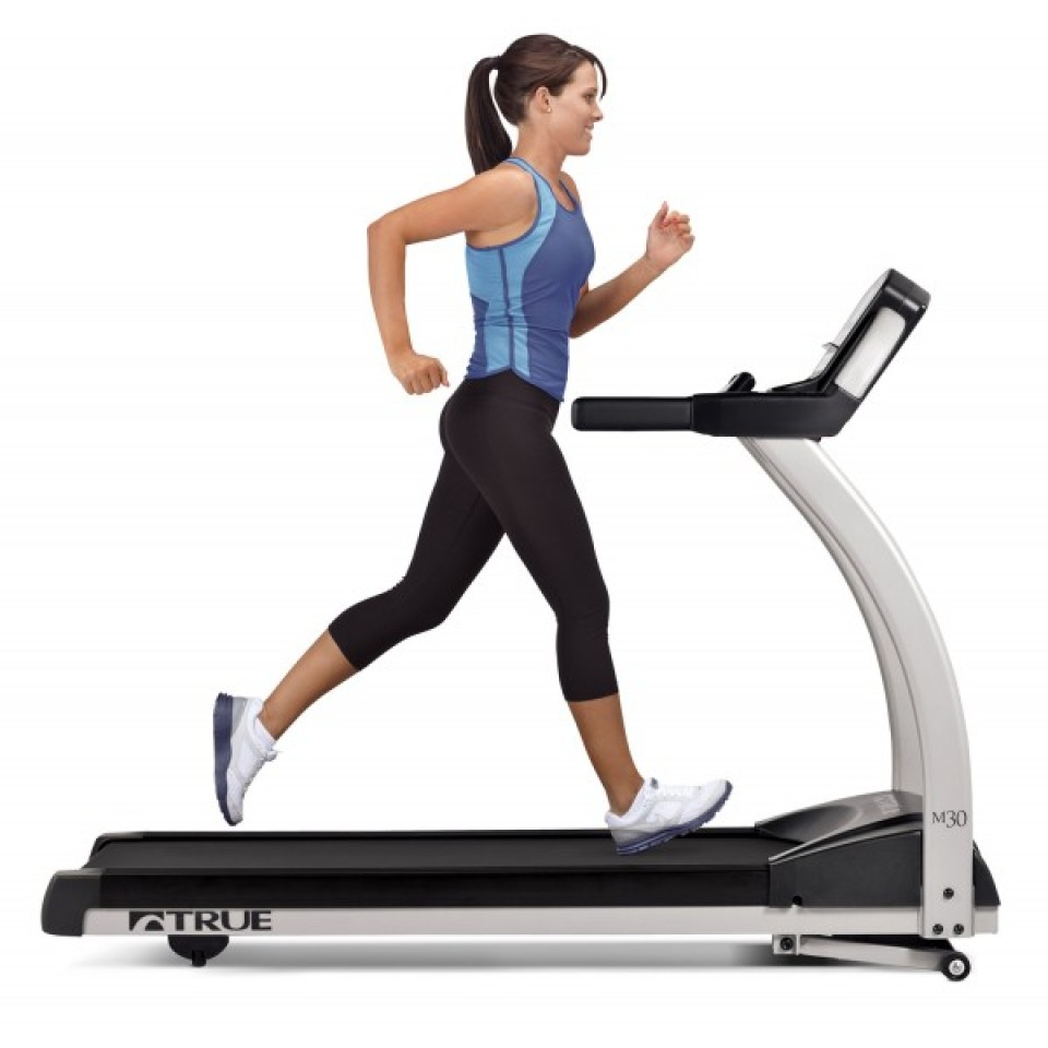 Run on the True M30 Treadmill