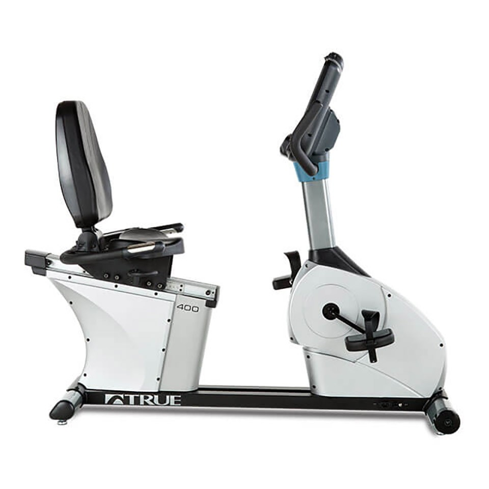 TRUE C400 Recumbent Bike - Side