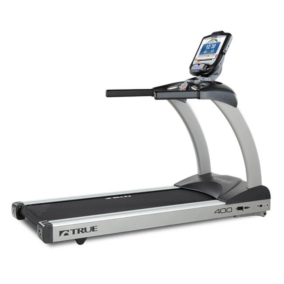 TRUE C400 Treadmill - 3/4 Back