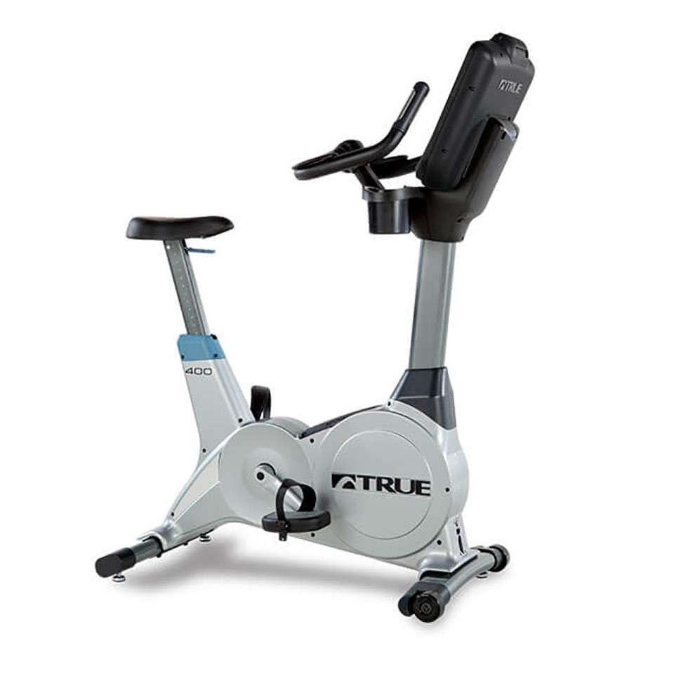 TRUE C400 Upright Bike - 3/4 Front