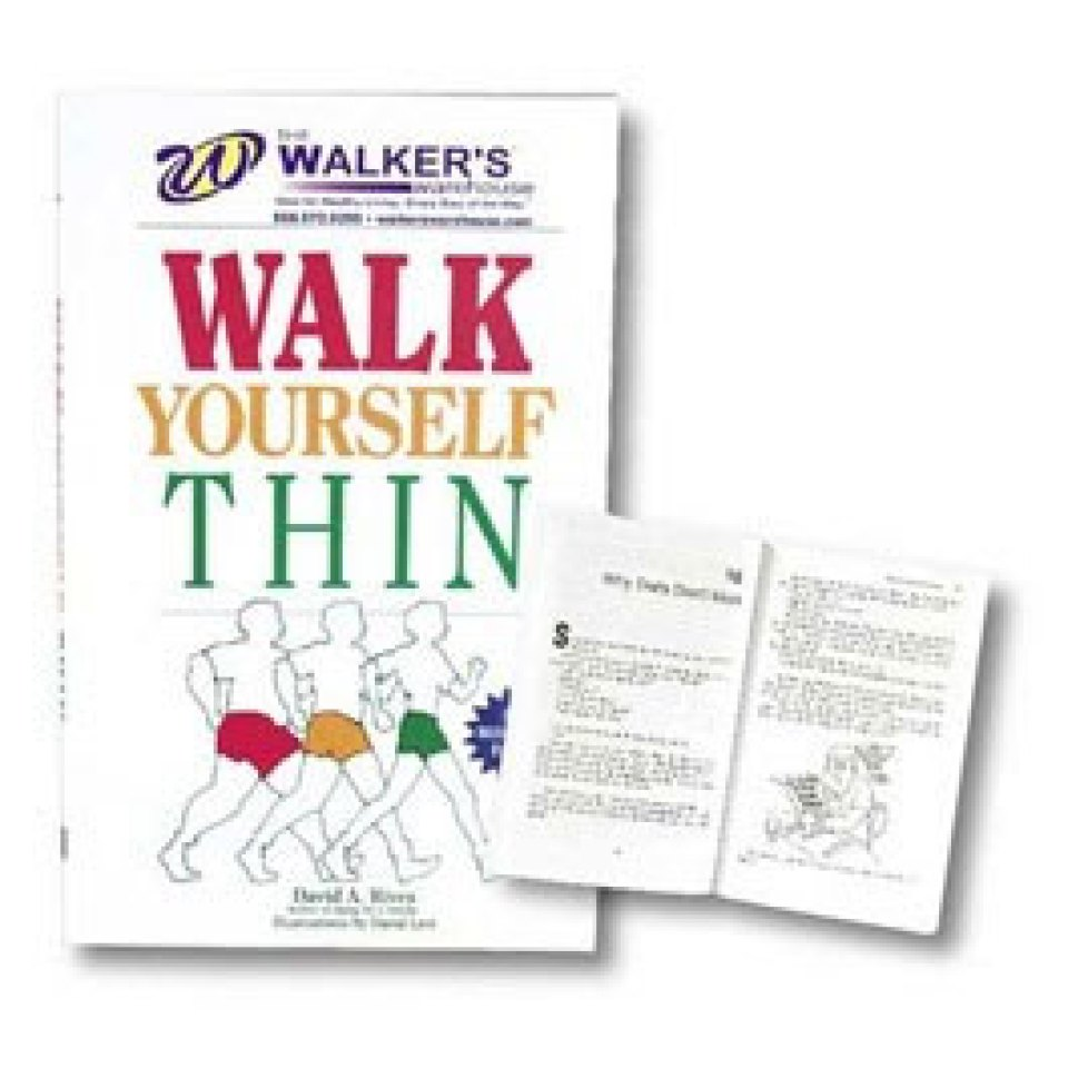 Walk Yourself Thin Fitness Book