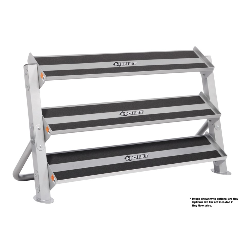 Hoist 2 Tier 5 Foot Hex Rack