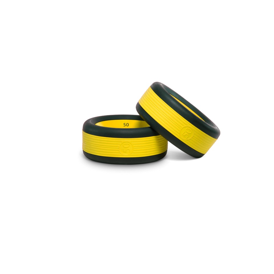 Yellow Nubell Weights