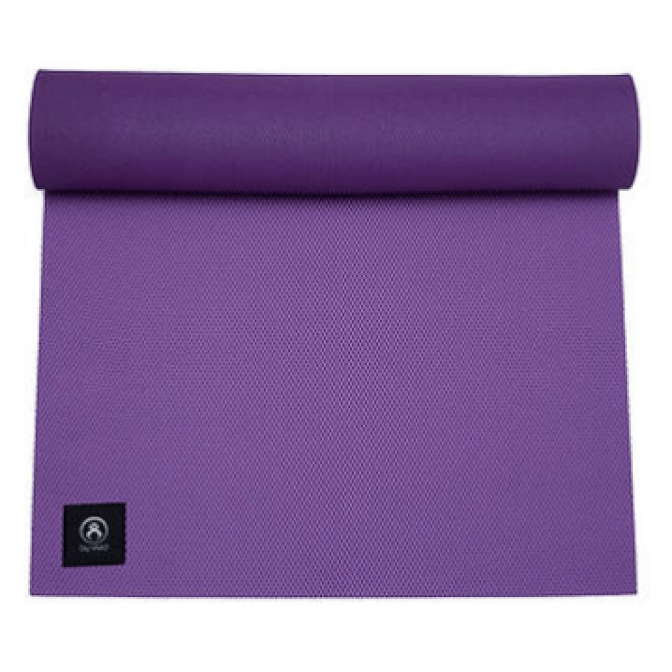 Purple Yoga Mat Byvivid