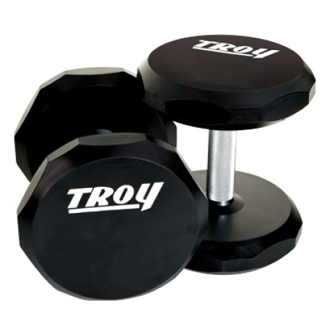 Troy Urethane 12-sided Dumb bells