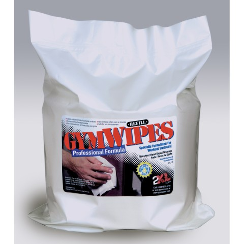 2XL Corp GymWipes Professional Refill (case of 4 refills)