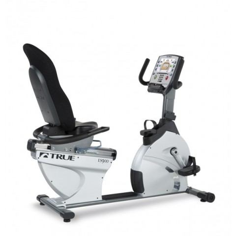 Back View of the ES900 True Fitness Bike