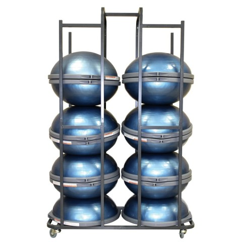 Storage Cart for 14 Bosu Balance Trainers