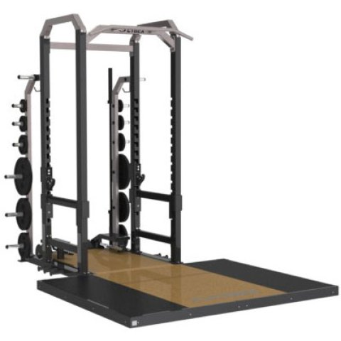 Commerical Big Iron Power Rack from Cybex
