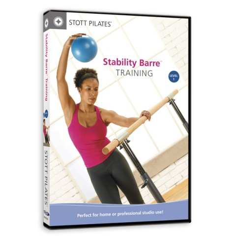 STOTT Pilates Stability Barre Training DVD