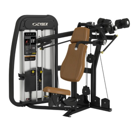 Cybex's Eagle NX Overhead Press Machine