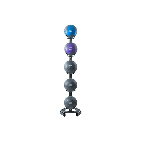 Hampton Fitness 5-Medicine Ball Rack