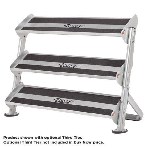 Hoist 2 Tier 4 Foot Hex Rack