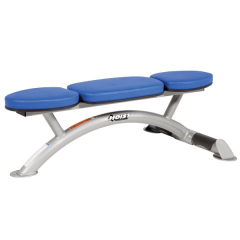 Flat Bench by Hoist