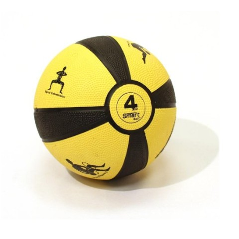Yellow 4lb Medicine Ball