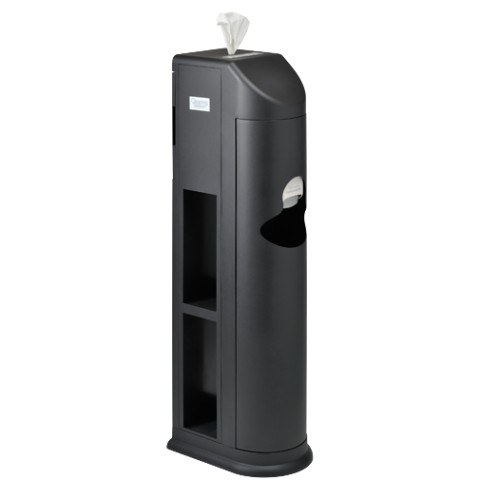 Black Cleaning Station for Fitness Wipes