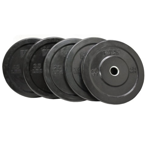 Troy Solid Rubber Interlocking Bumper Plates